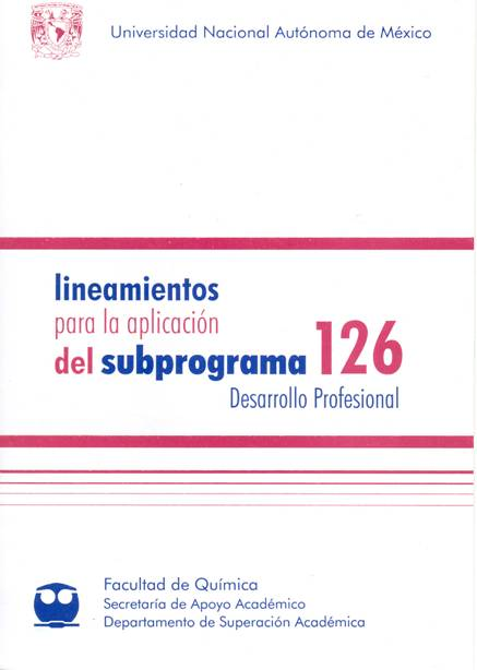 Subprograma 126 Desarrollo Profesional